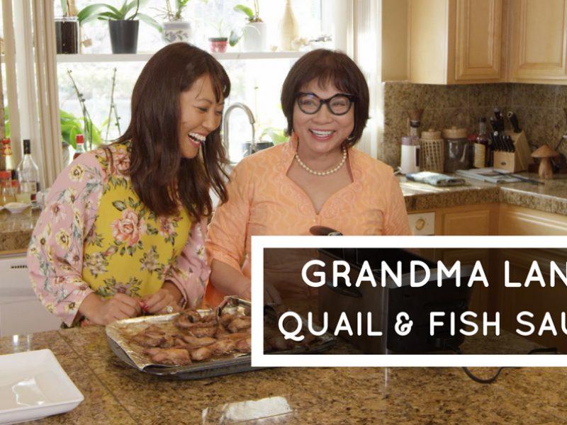 Vietnamese Quail and Fish Sauce