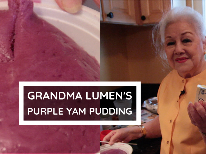 Filipino Purple Yam Pudding (Ube Halaya)