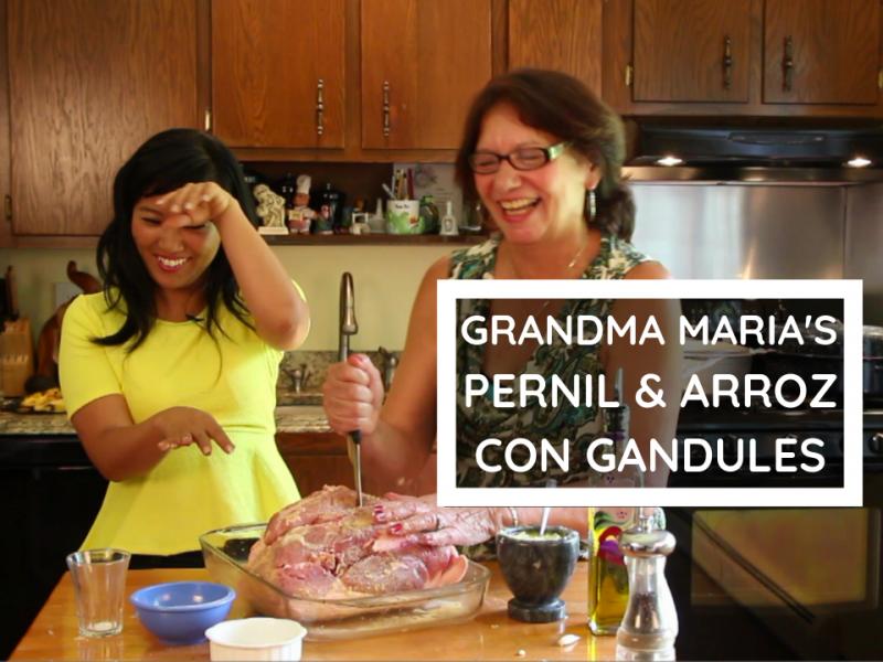 Puerto Rican Pernil & Arroz con Gandules