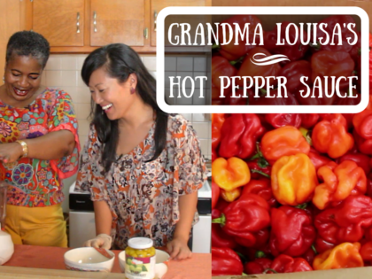 Trinidadian Pepper Sauce