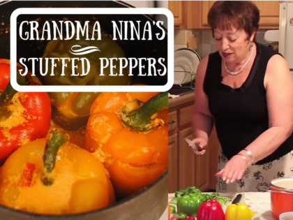 Soviet-Style Stuffed Peppers
